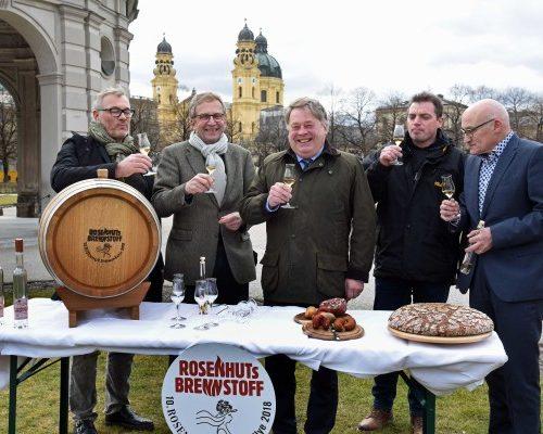 """Fränkischer """"Brennstoff"""" auf Stippvisite in München"""